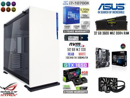 32 GB RAM 512 GB M.2 SSD 2 TB HDD GTX 1650S GAMİNG RENDER PC